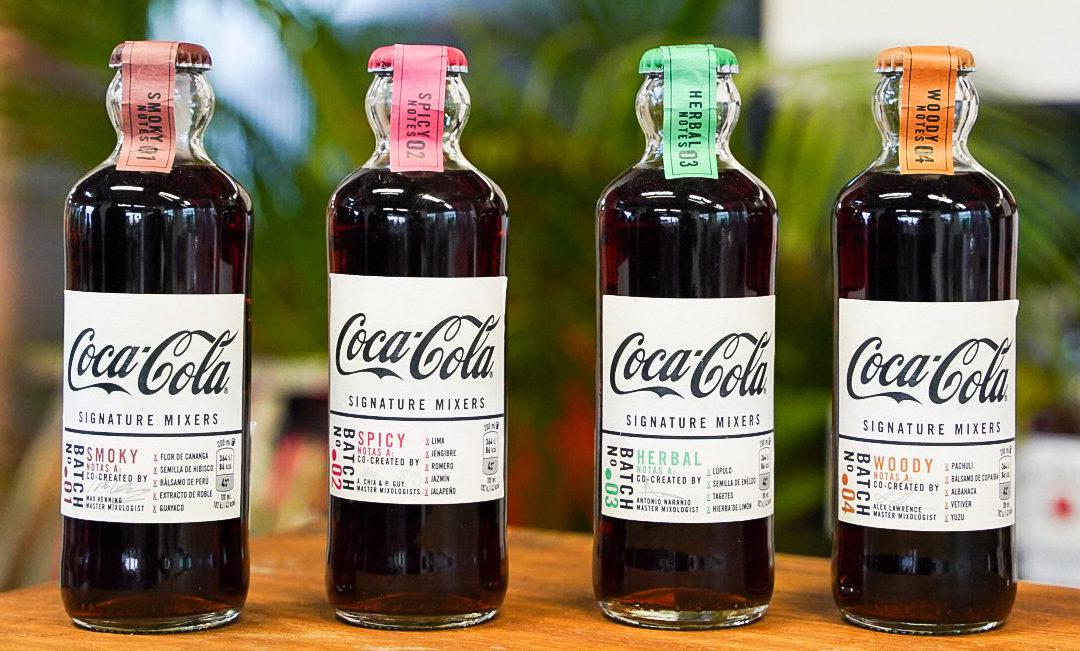 Súper Cócteles con las Coca-Cola Signature Mixers