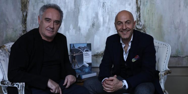 Ferran Adrià junto a Marcello Arcangeli